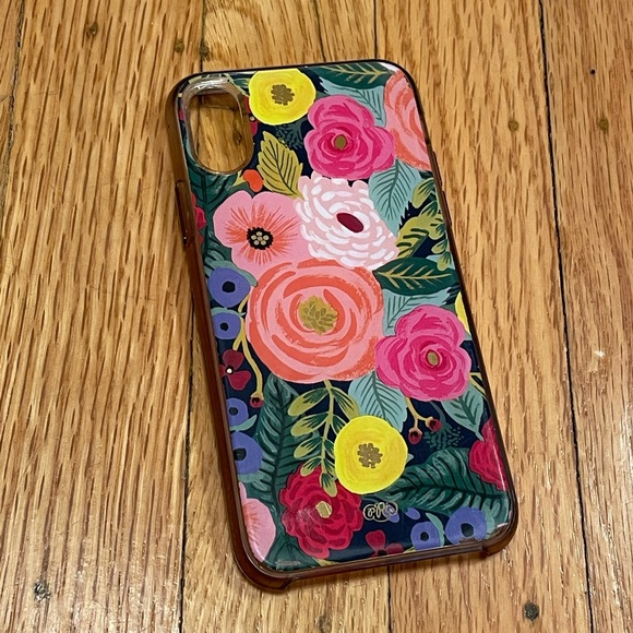 Rifle Paper & Co iPhone XS Case